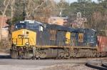 CSX 931 & 593 lead train T334 eastbound