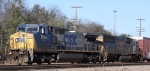 CSX 7856 & 8665 lead train Q677 westbound