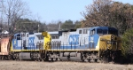 CSX 150 & 441 are power on train Q676