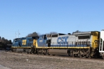 CSX 9010 & 403 head west on train Q667