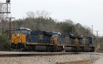 CSX 977, 743, & 908 head towards the yard