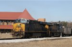 CSX 890 & 823 lead train N469-10 across the diamonds