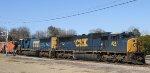 CSX 4541 & 4812 lead train Q776-11 eastbound
