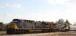 CSX 277 & 414 lead train Q464 northbound