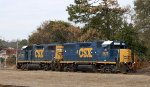CSX 2573 & 2703 are train F701