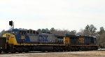 CSX 723 & 382 lead train Q463-18 across the diamonds