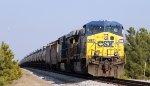 CSX 687 leads train K466-15