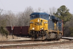 CSX 803 leads train Q463 past mp 253 out of Hamlet Yard