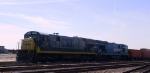 CSX 7138 & 7137 are on the point of a work train