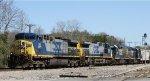 CSX 34 leads train F769-17