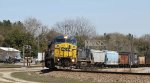 CSX 7321 leads train Q491-21 southbound