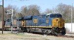 CSX 3055 & 889 leads train U371-18