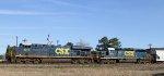 CSX 5210 & 8812 lead train Q438-22