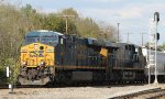 CSX 706 leads train Q463 southbound