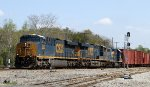 CSX 883 leads train Q463 