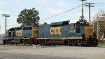 CSX 2249 & 6425 are train F701-25