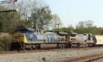 CSX 414 leads train F769-30