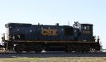 CSX 1208 leads train Y129