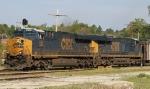 CSX 853 & 786 lead train U355-01 eastbound