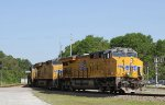 UP 7937 leads two other UP units on CSX train S614-24