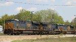 CSX 955 leads train Q491-26 southbound