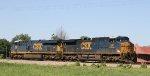 CSX 591 leads train X090-29