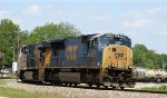 CSX 4798 leads train Q478-29 eastbound
