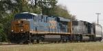CSX 5441 leads train Q667 westbound
