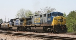 CSX 603 leads train Q484 towards the yard
