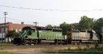 HLCX 7014 leads train F707-25
