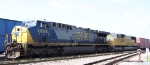 CSX 604 awaits its turn to get into the yard
