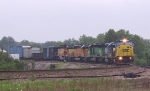 CSX 8784 leads an assortment of power 