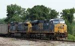 CSX 710 & 138 lead train U354-07 westbound
