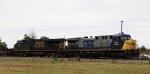 CSX 446 leads train Q492-14 northbound