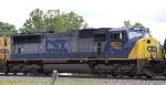 CSX 4500, the Spirit of Cumberland, heads towards the yard