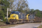 CSX 486 & 251 lead a coal train eastbound