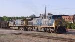 CSX 201 & 154 lead a westbound train