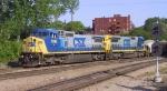 CSX 7892 & 7534 lead an eastbound train