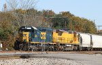 CSX 8336 leads train F769-11 westbound