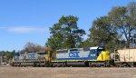 CSX 8818 & 548