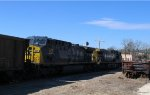 CSX 506 & 509 lead an empty coal train