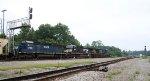 HLCX 7183 follows NS 9832 & CSX 5367 towards the yard