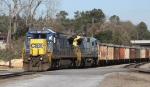 CSX 7621 & 7502 lead train Q776