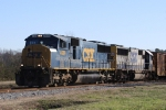 CSX 4689 & 8571 lead train F728 off the Tarboro Sub