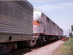 Another westbound CB&Q passenger train at East Dubuque, IL