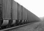 Coal cars down the Cherokee Sub