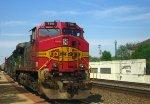 Warbonnet leads a CSX train at NS mile post 256