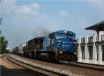 Conrail Dash 8 leads a general merchandise