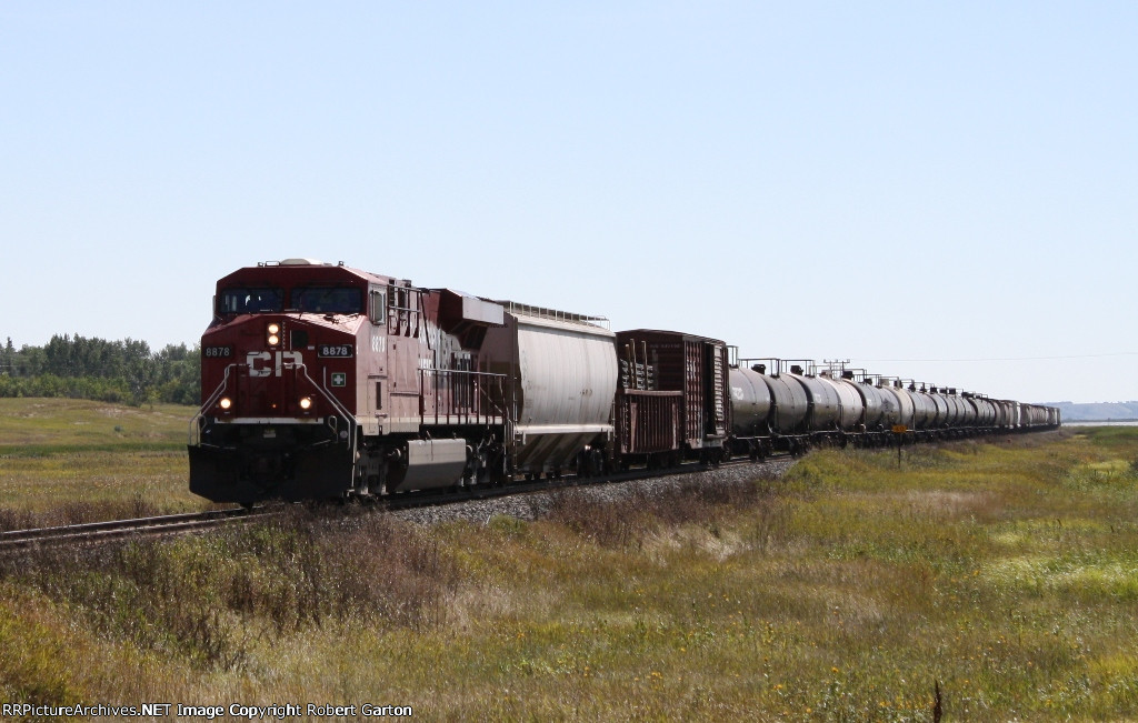 A Single Motor on the Point of a Mixed Manifest Headed to Points in Saskatchewan and Beyond