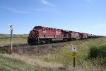 CP 8833 Hits a Rural Crossing Just West of Town